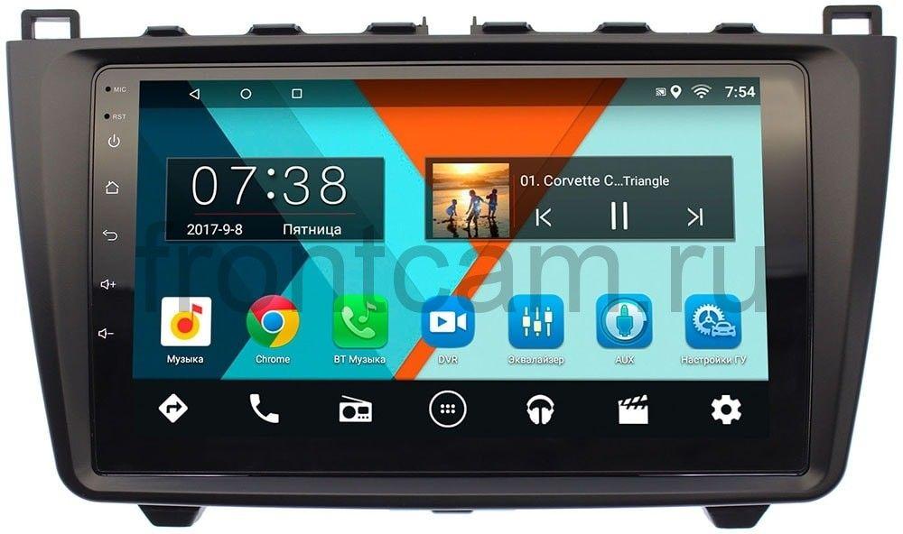 Штатная магнитола Mazda 6 (GH) 2007-2012 Wide Media MT9033MF-2/16 на Android 7.1.1 (+ Камера заднего вида в подарок!)