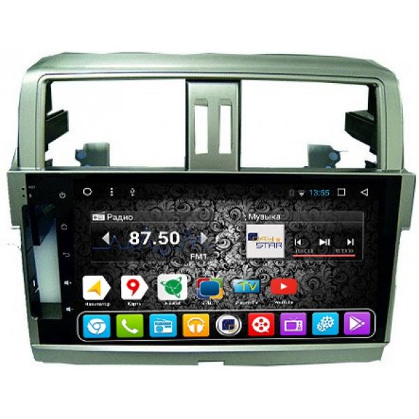 Штатная магнитола DayStar DS-7047HB Toyota Prado 150 ANDROID 8.1.0 (8 ядер, 2Gb ОЗУ, 32Gb памяти) (+ камера заднего вида)