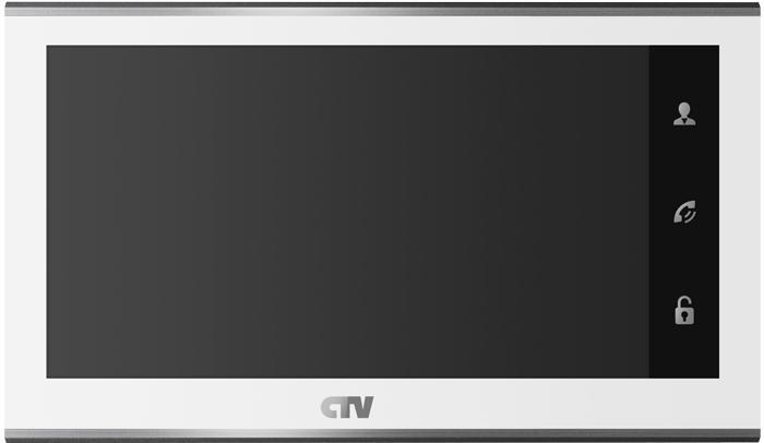 Цветной монитор видеодомофона CTV-M2702MD (белый) (+ Салфетки из микрофибры в подарок) светодиодный светильник с сенсорным управлением af 518
