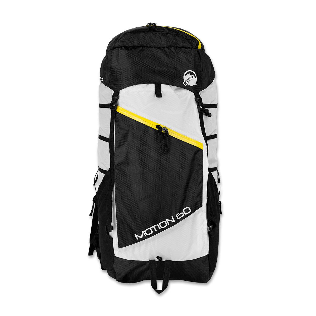 Туристический рюкзак MOTION 60, черно-белый (12MSWh60D)