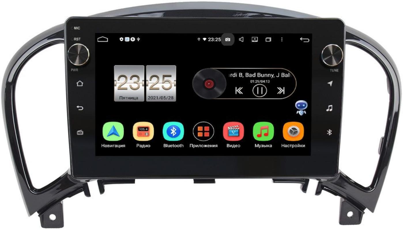Штатная магнитола Nissan Juke I 2010-2019 LeTrun BPX409-9154 на Android 10 (4/32, DSP, IPS, с голосовым ассистентом, с крутилками) (+ Камера заднего вида в подарок!)