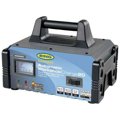 Пуско-зарядное устройство сетевое Ring Automotive RECB320 (12В, 20А) 40113 automotive computer board
