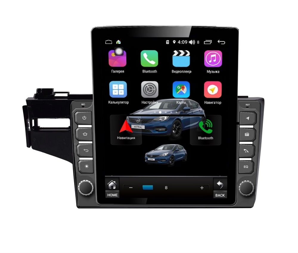 Фото - Штатная магнитола FarCar s300+SIM 4G для Honda Fit на Android (RT1185R) (+ Камера заднего вида в подарок!) штатная магнитола farcar s300 sim 4g для mercedes r class на android rt215r камера заднего вида в подарок