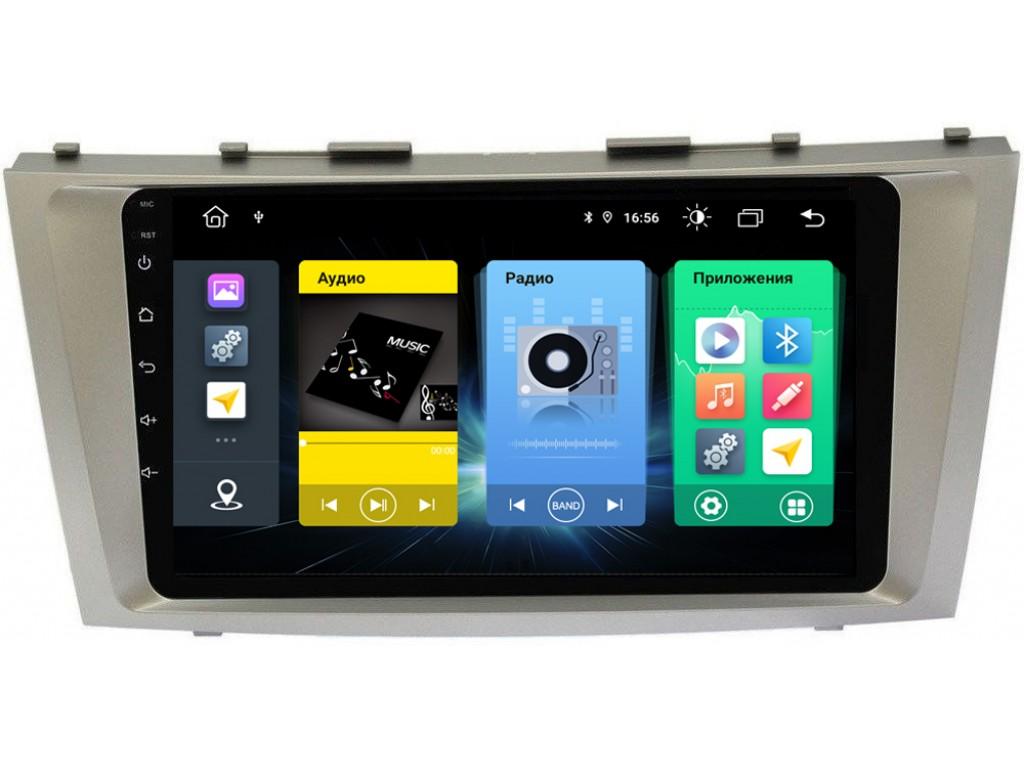 Головное устройство vomi FX347R9-MTK-LTE для Toyota Camry V40 2006-2011 (+ Камера заднего вида в подарок!)