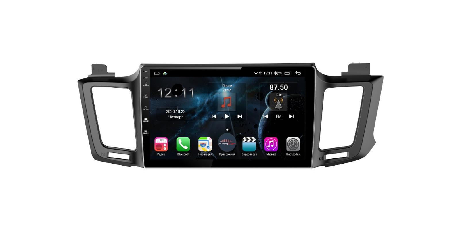 Штатная магнитола FarCar s400 для Toyota RAV-4 на Android (H468R) (+ Камера заднего вида в подарок!)