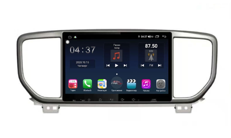 Штатная магнитола FarCar s400 для KIA Sportage на Android (TG1143R) (+ Камера заднего вида в подарок!)