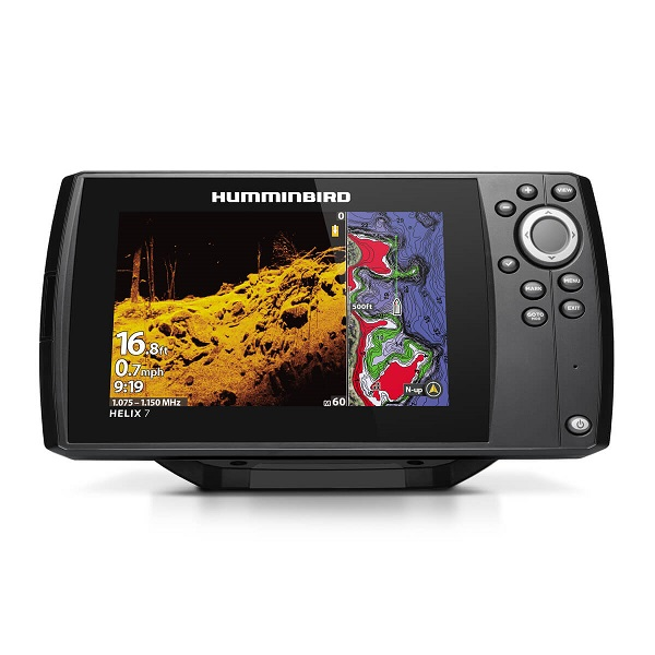 Эхолот HUMMINBIRD HELIX 7X MEGA DI GPS G3 (+ Леска в подарок!)