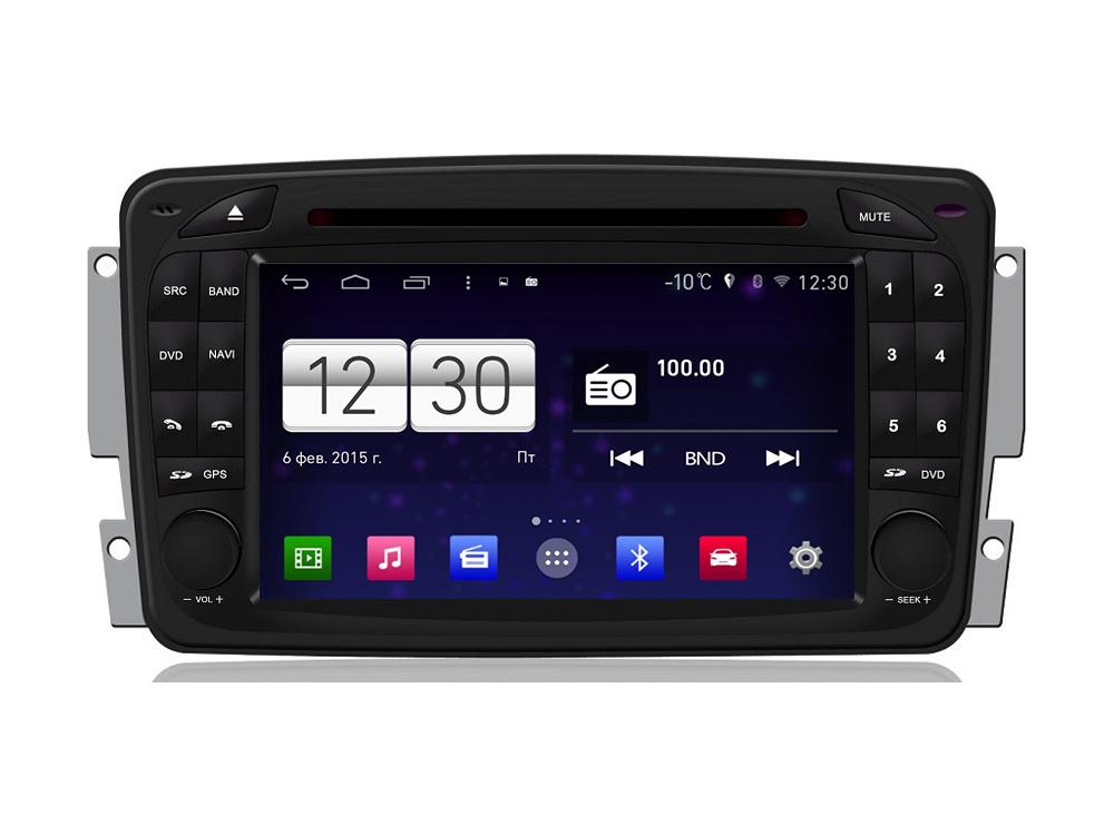 Штатная магнитола FarCar s160 для Mercedes C, CLK, G, Vito, Vaneo, Viano на Android (m171) штатная магнитола farcar s170 для mercedes benz c clk g vito vaneo viano на android l171
