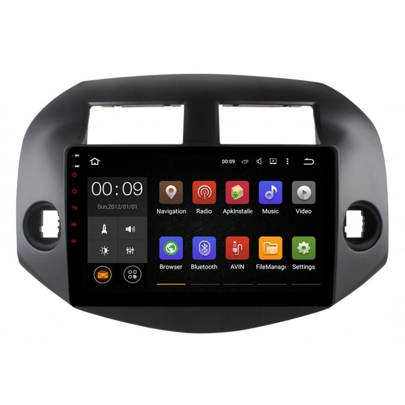 Штатная магнитола Roximo 4G RX-1120 для Toyota Rav4 2006 (Android 6.0) (+ Камера заднего вида в подарок!)