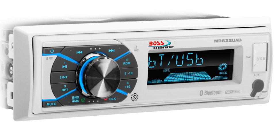 Влагозащищенная морская магнитола Boss Audio MR632UAB