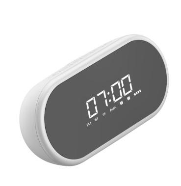 Колонка Часы Baseus Encok Wireless Speaker E09 White