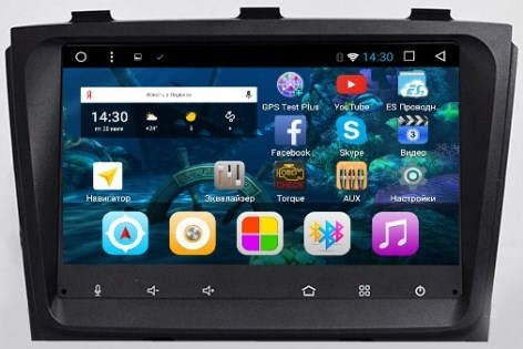 Штатная автомагнитола VOMI VM5003-T8 для Kia Sorento 2012+ low (без крутилки) на Android 8.1