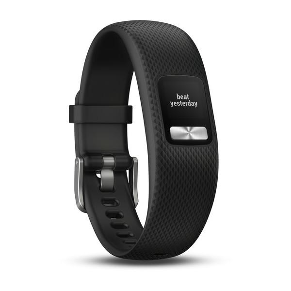 Трекер активности Garmin Vivofit 4 Black, L garmin смарт часы vivofit slate hrm1