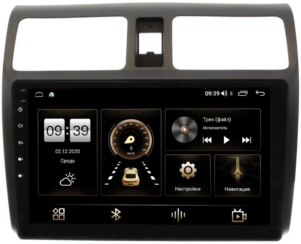 Штатная магнитола Suzuki Swift III 2004-2010 LeTrun 4165-1024 на Android 10 (4G-SIM, 3/32, DSP, QLed) (+ Камера заднего вида в подарок!)