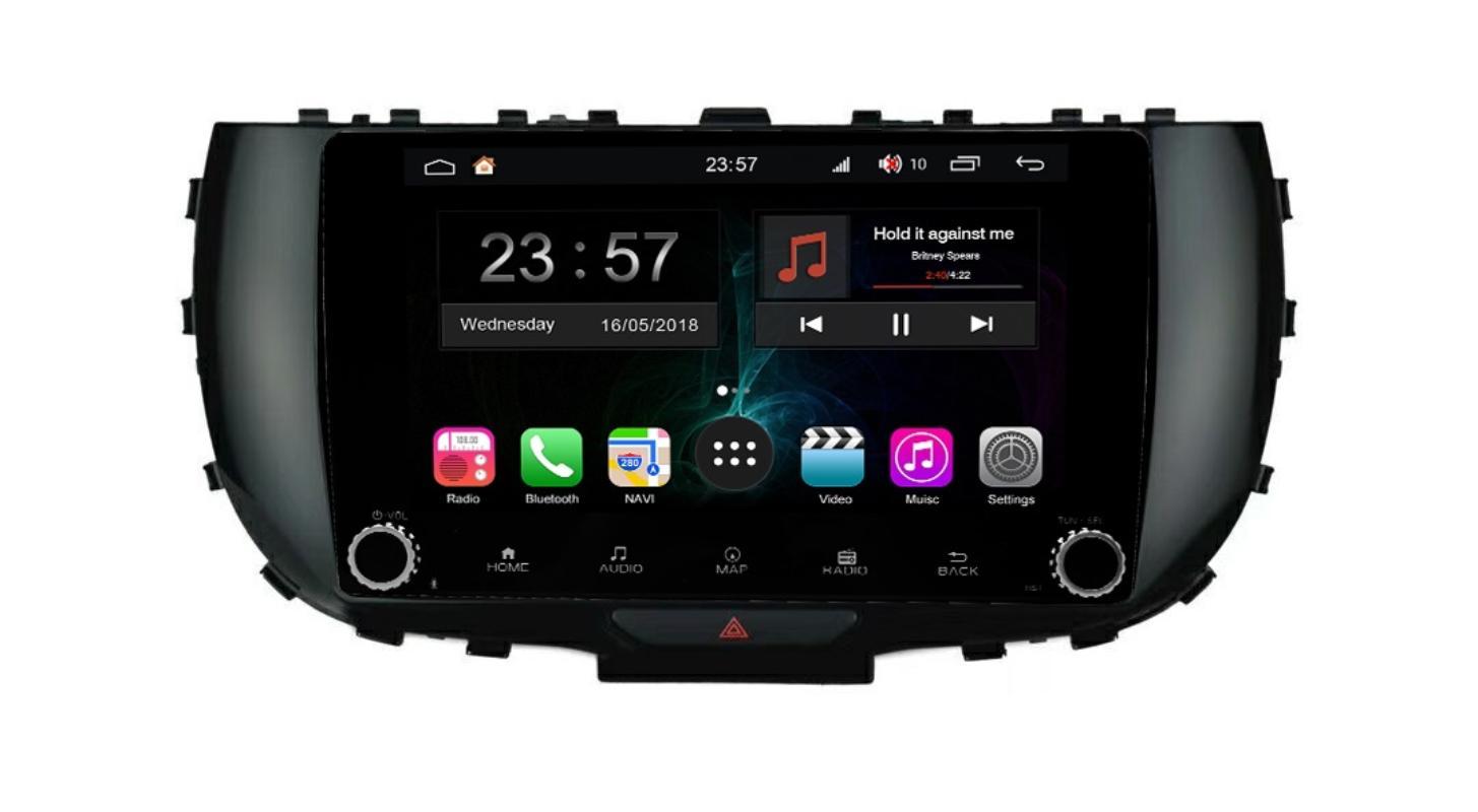 Штатная магнитола FarCar s300-SIM 4G для KIA Soul на Android (RG1214RB) (+ Камера заднего вида в подарок!)