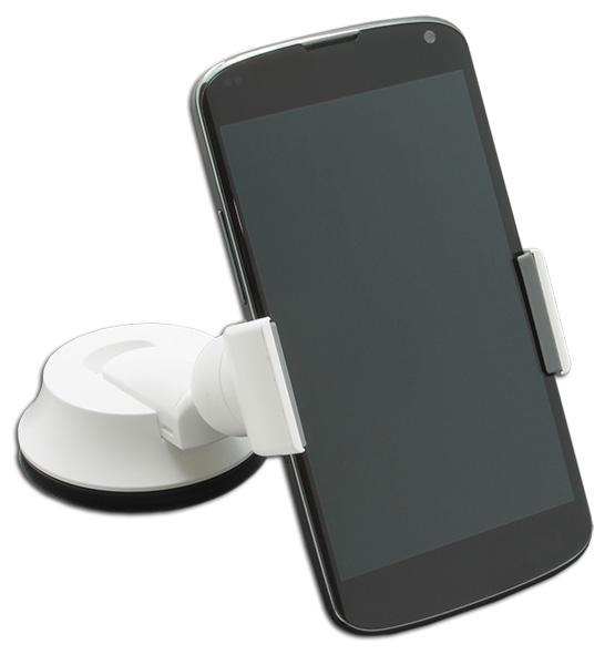 Ppyple Dash-Clip F5 white держатель на приб. панель и стекло, для смарфонов до 6
