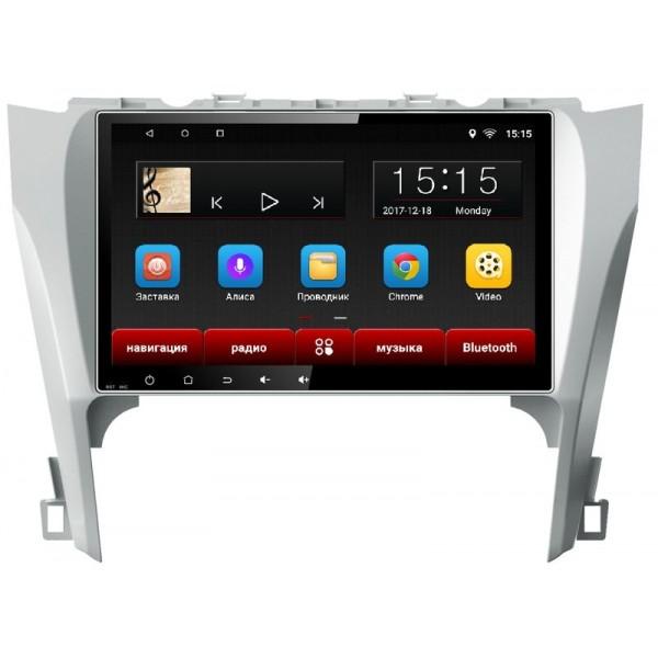 Головное устройство Subini TOY101 с экраном 102 для Toyota Camry 2012-2014 (+ Камера заднего вида в подарок!).