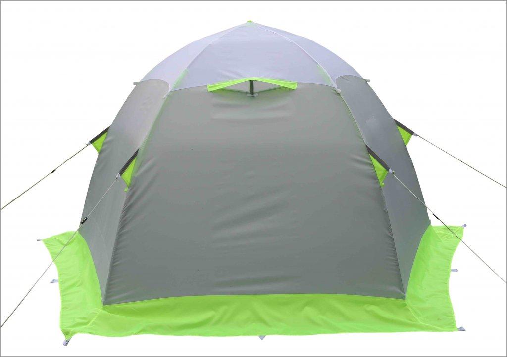 Зимняя палатка Лотос 2С (стеклокомпозитный каркас)