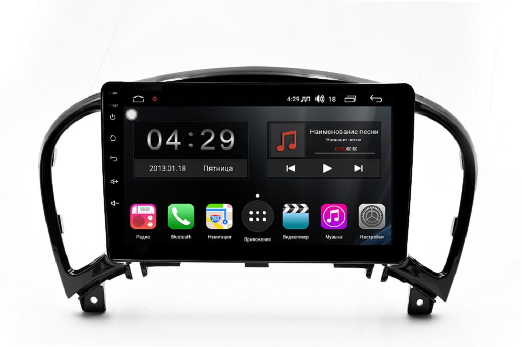 Штатная магнитола FarCar s300 для Nissan Juke на Android (RL749R) (+ Камера заднего вида в подарок!)