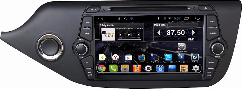 Штатная магнитола DayStar DS-7095HD Kia cee'd 2013+ ANDROID 8.1.0 (8 ядер, 2Gb ОЗУ, 32Gb памяти) pipo w4s dual boot 8 inch 2gb 32gb windows8 1