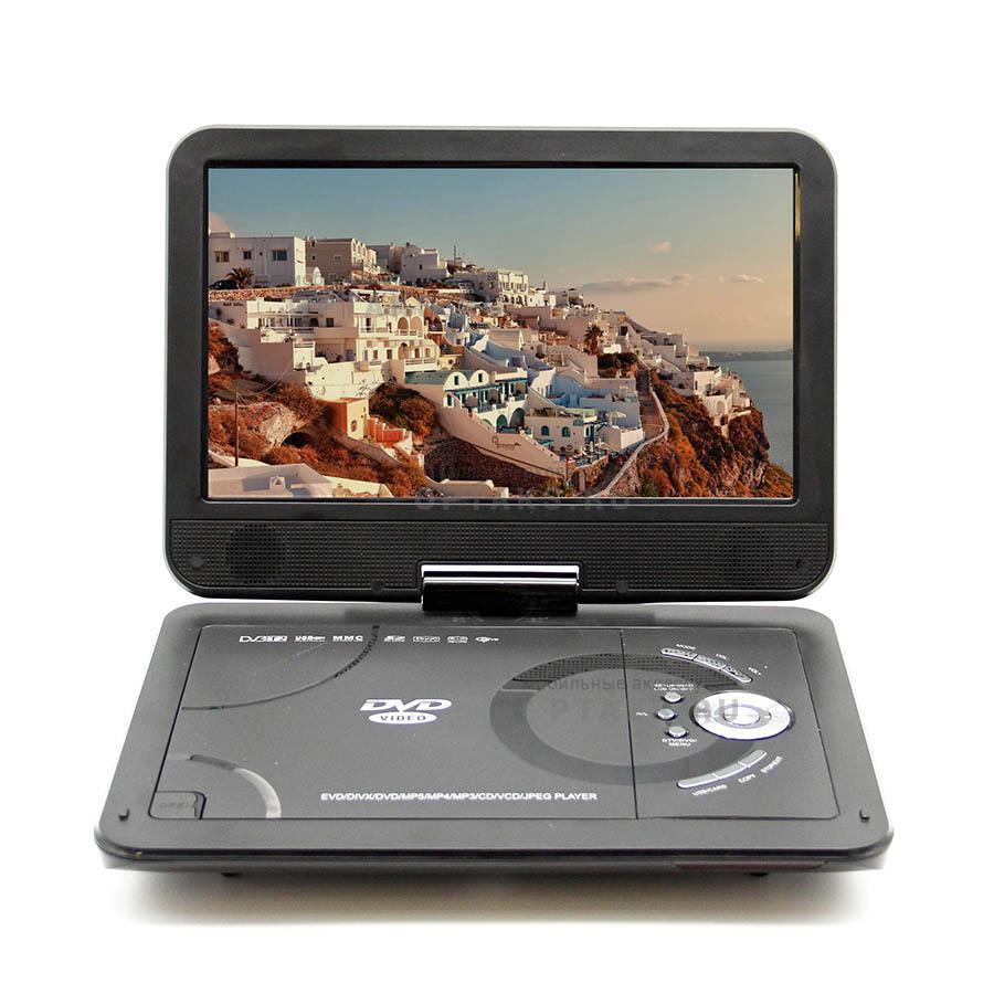 DVD плеер портативный с тюнером DVB-T2 LS-104T (+ Разветвитель в подарок!) цена и фото