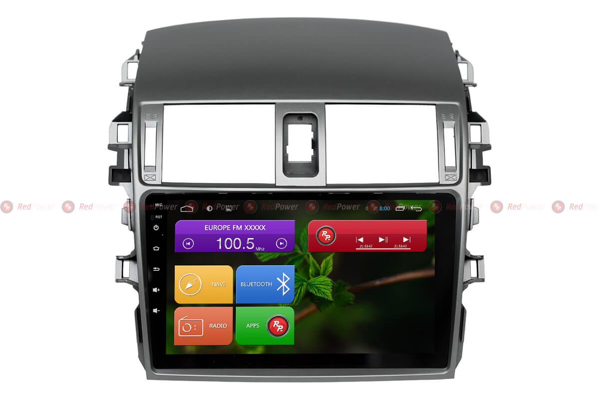Автомагнитола для Toyota Corolla Redpower 31063 R IPS DSP ANDROID 7 автомагнитола для hyundai ix55 redpower 31197 ips dsp android 7