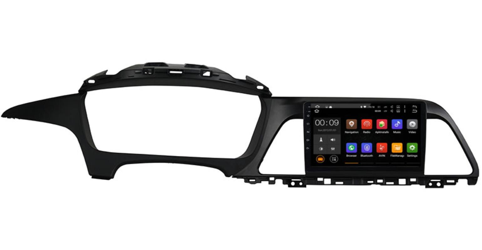 Штатная магнитола Roximo 4G RX-2028 для Hyundai Sonata 7 (+ Камера заднего вида в подарок!)