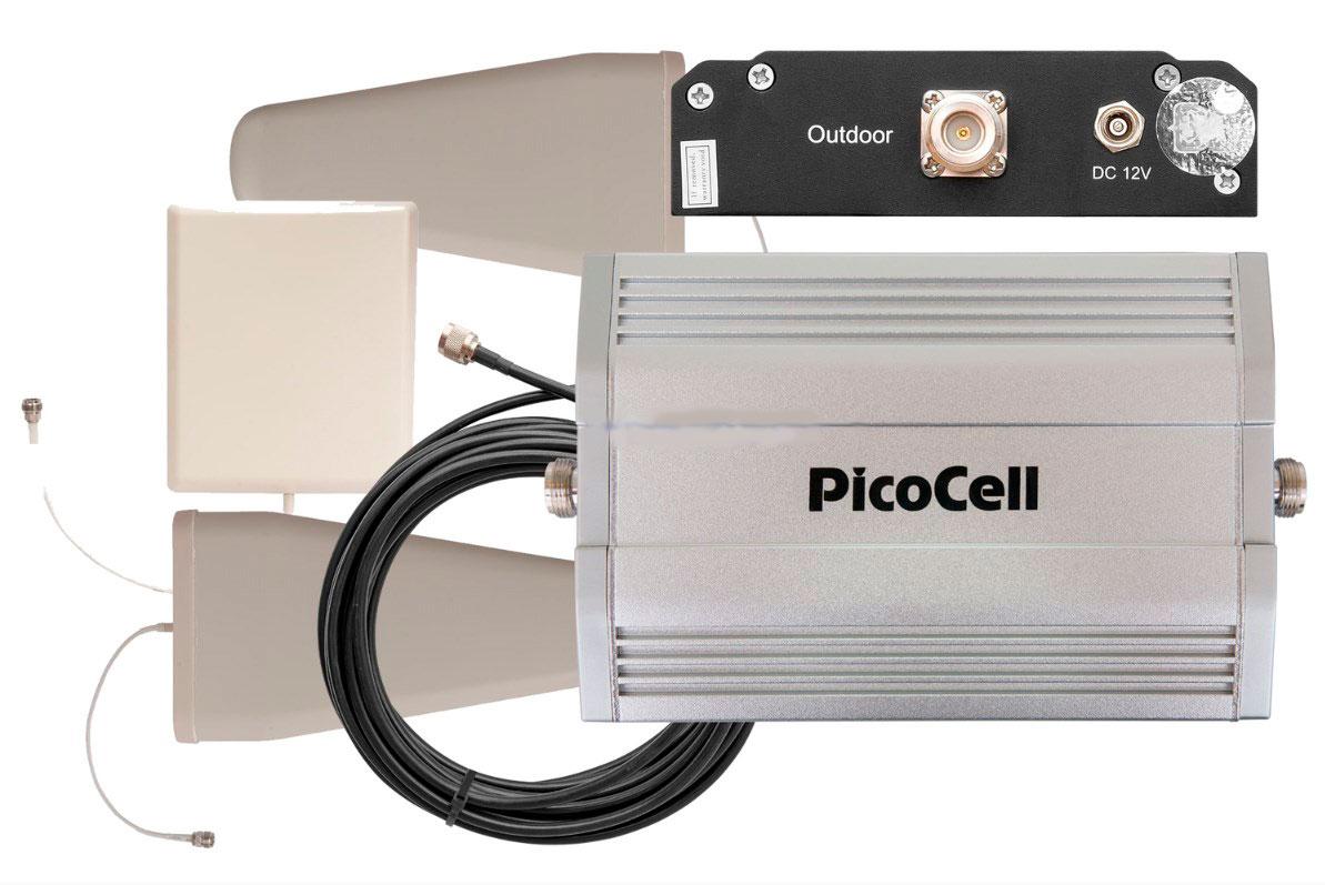 Готовый комплект усиления сотовой связи PicoCell 2000 SXB+ (LITE 4) (+ Кронштейн в подарок!) готовый комплект усиления сотовой связи picocell 2000 sxb lite 2 кронштейн в подарок