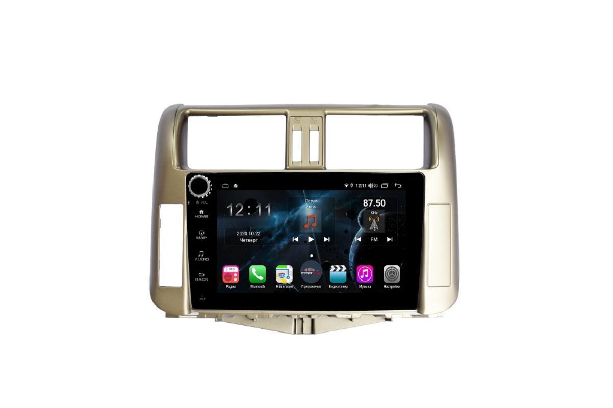 Штатная магнитола FarCar s400 для Toyota PRADO на Android (H065RB) (+ Камера заднего вида в подарок!)