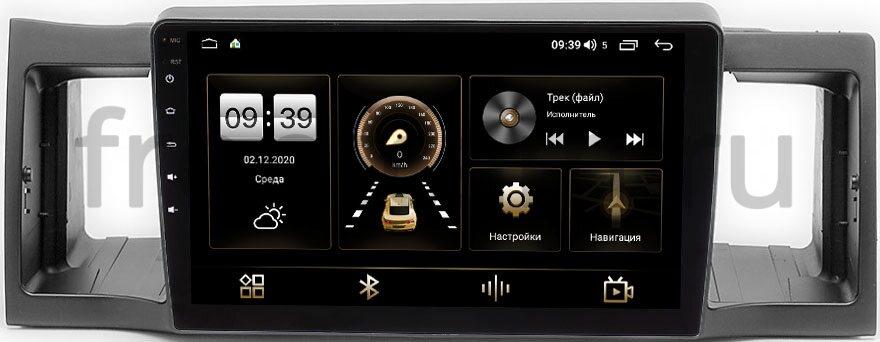 Штатная магнитола LeTrun 4166-9-044 для Geely FC (Vision) 2006-2011 на Android 10 (4G-SIM, 3/32, DSP, QLed) (+ Камера заднего вида в подарок!)