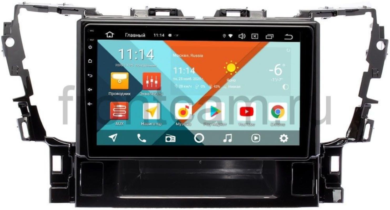 Штатная магнитола Toyota Alphard III 2015+ Wide Media KS1069QM-2/32 DSP CarPlay 4G-SIM Android 10 (+ Камера заднего вида в подарок!)