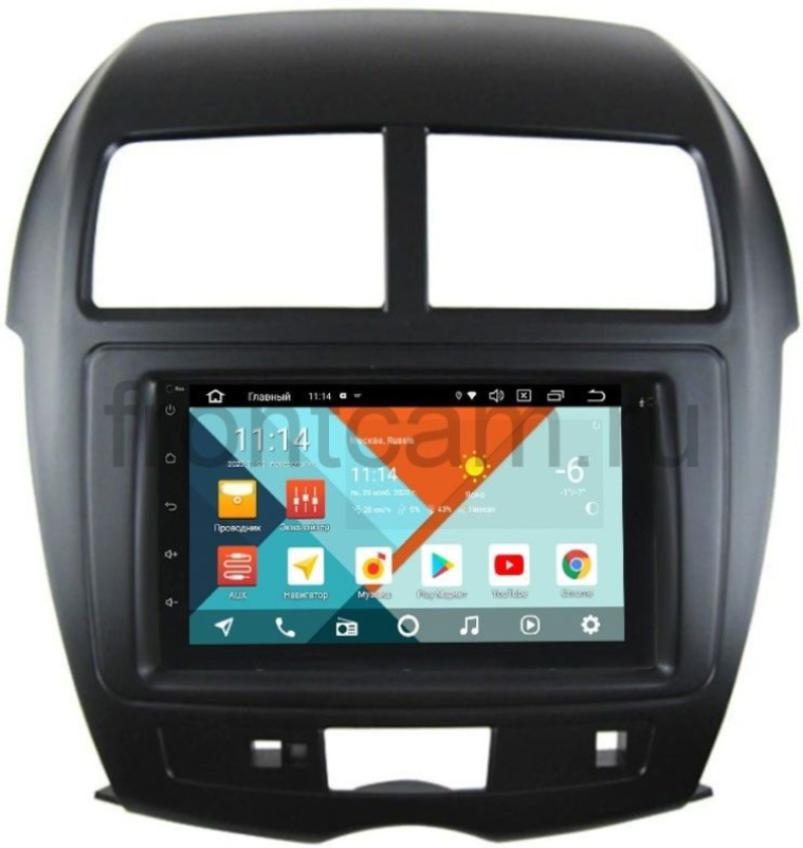 Штатная магнитола Mitsubishi ASX I 2010-2018 Wide Media KS7001QR-3/32-RP-MMASX-69 на Android 10 (DSP CarPlay 4G-SIM) (+ Камера заднего вида в подарок!)