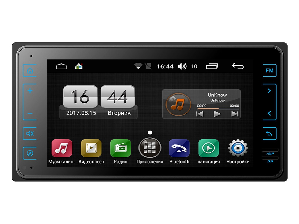 Штатная магнитола FarCar s170 для Toyota Universal на Android (L572) штатная магнитола farcar s170 для toyota prado 150 на android l531