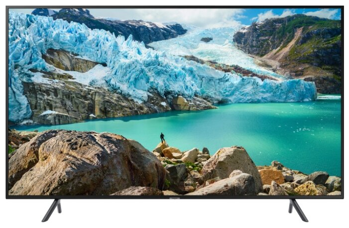 Фото - Телевизор LED Samsung 50 UE50RU7100UXRU 7 черный/Ultra HD/200Hz/DVB-T2/DVB-C/DVB-S2/USB/WiFi/Smart TV (RUS) кинотеатр