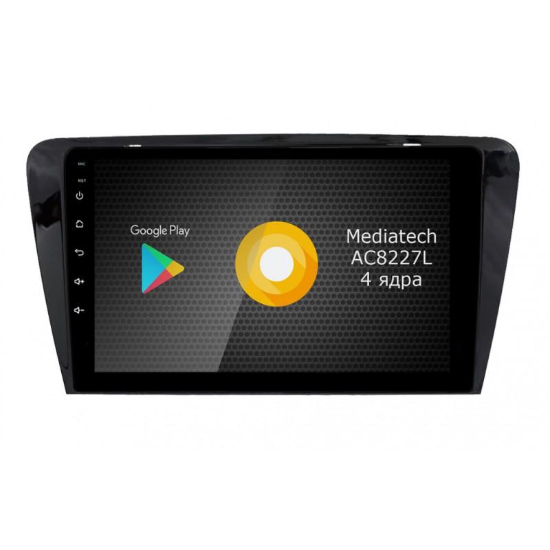 Штатная магнитола Roximo S10 RS-3201 для Skoda Octavia A7 (Android 8.1)Roximo<br>Штатное головное устройство на базе Mediatech AC8227L Quad Core, 1.0-1.2GHz (четыре ядра) разработан именно для использования в автомобильной промышленности, система оптимизирована таким образом, что 2Гб оперативной памяти хватает для стабильной работы всех необходимых приложений, используемых в автомобиле - онлайн навигации, радаров, радио/музыки/видео.
