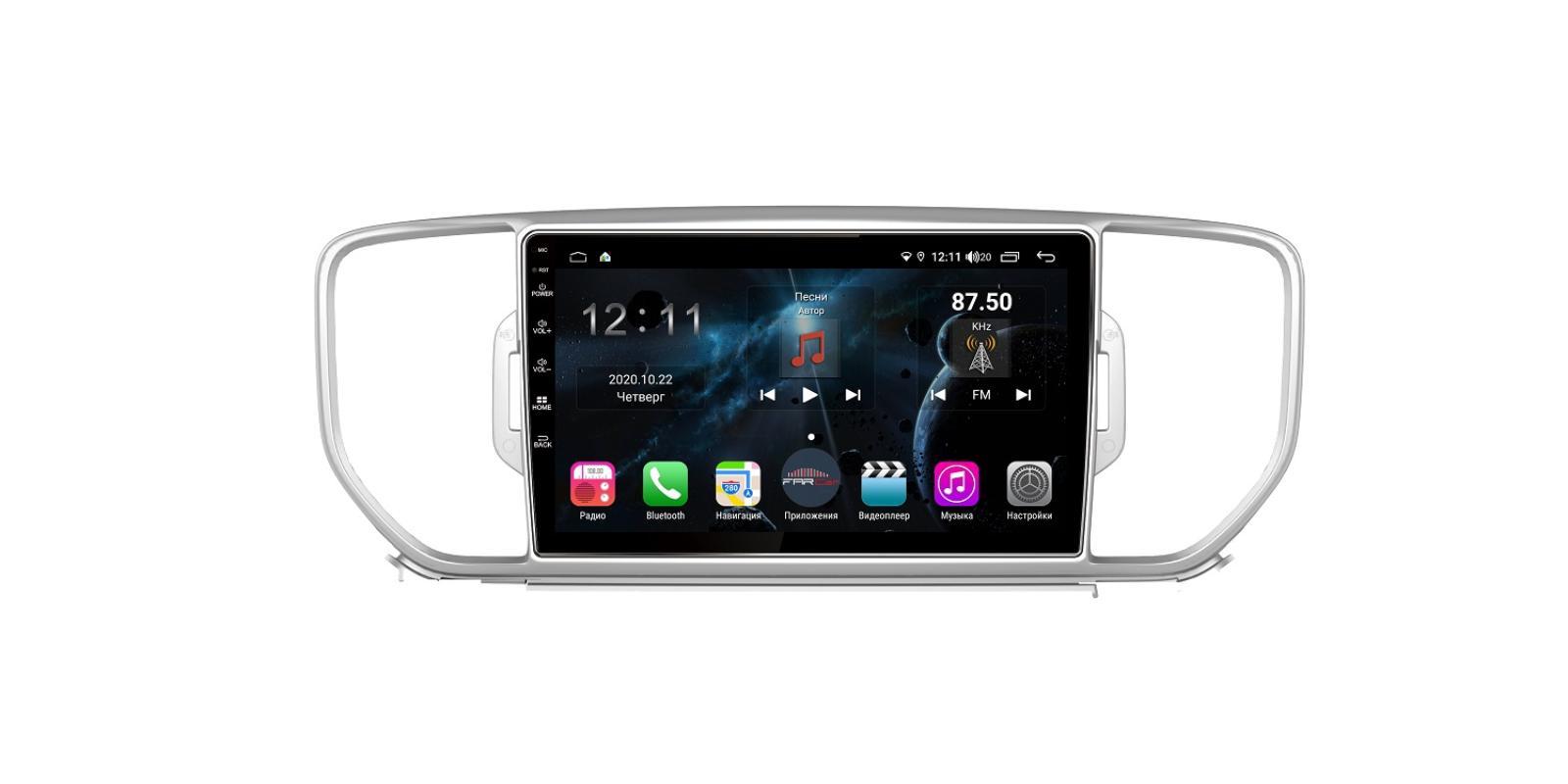 Штатная магнитола FarCar s400 для KIA Sportage на Android (H576R) (+ Камера заднего вида в подарок!)