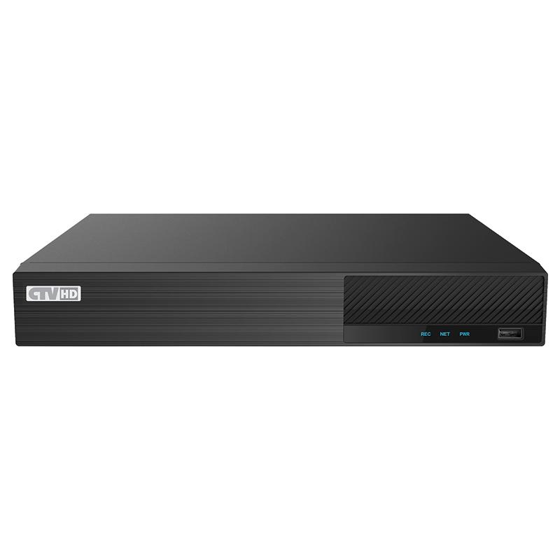 Гибридный цифровой 4-х канальный видеорегистратор CTV-HD9404 HP Plus falcon eye fe mhd2108 8 канальный 5 в 1 регистратор запись 8кан 5мп lite 12k с 1080p 15k с 720p 25k с н 264 h 265 h265 hdmi vga sata 1 до 8tb hdd 2 usb аудио 1 1