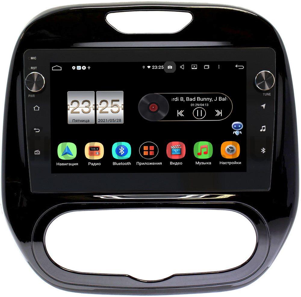 Штатная магнитола LeTrun BPX609-9323 для Renault Kaptur 2016-2021 (печка) на Android 10 (4/64, DSP, IPS, с голосовым ассистентом, с крутилками) (+ Камера заднего вида в подарок!)