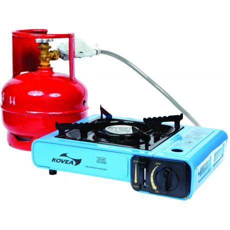 Плита газовая универсальная Kovea Portable Range (+ Поливные капельницы в подарок!)