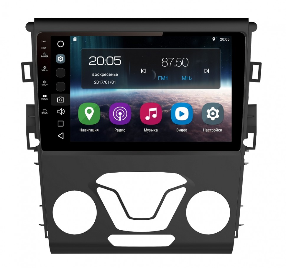 Штатная магнитола FarCar s200 для Ford Mondeo 2013+ на Android (V377R-DSP) штатная магнитола farcar s160 для ford fusion explorer expedition mustang на android m148