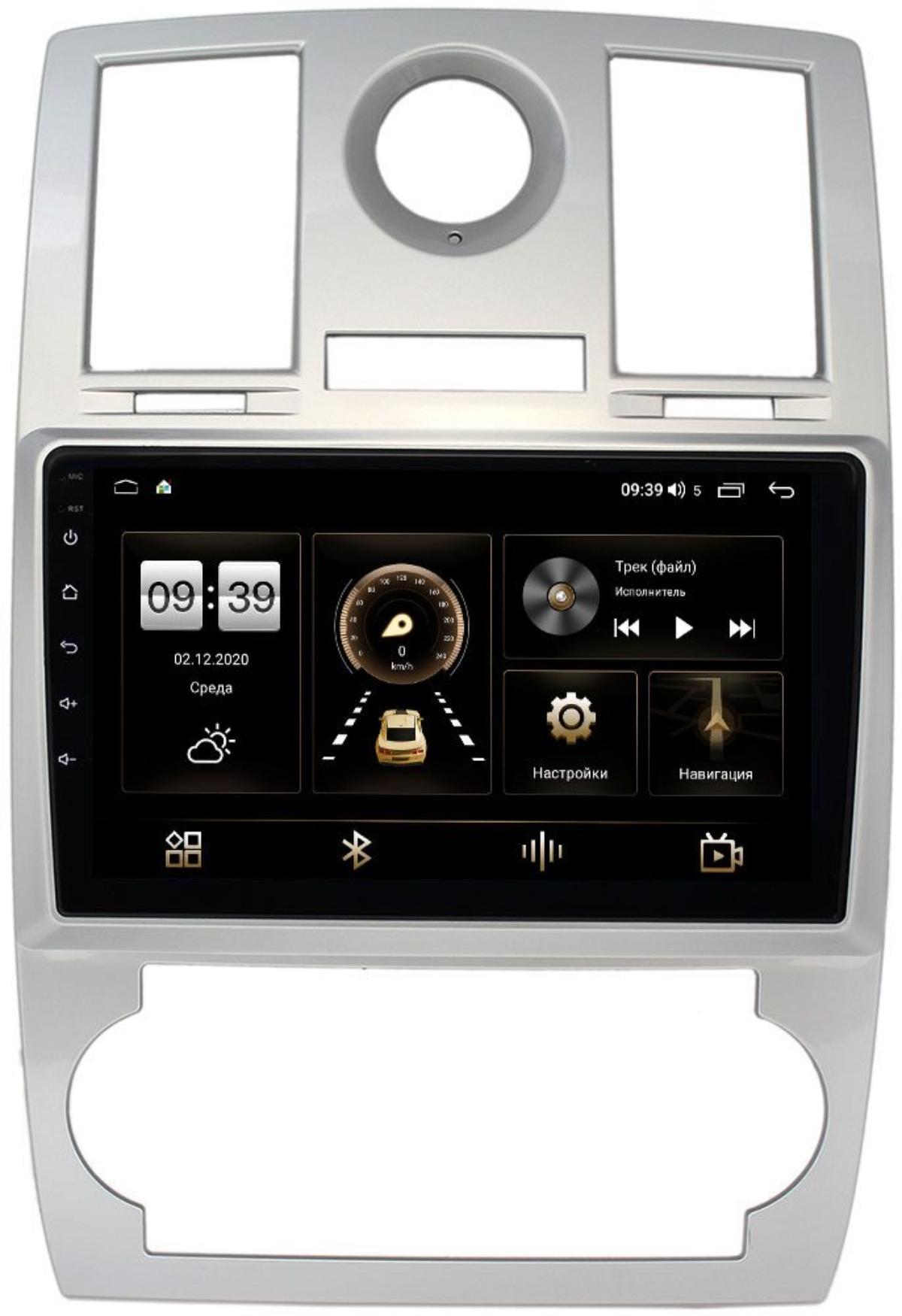 Штатная магнитола Chrysler 300C I 2004-2011 LeTrun 4196-9112 на Android 10 (6/128, DSP, QLed) С оптическим выходом (+ Камера заднего вида в подарок!)