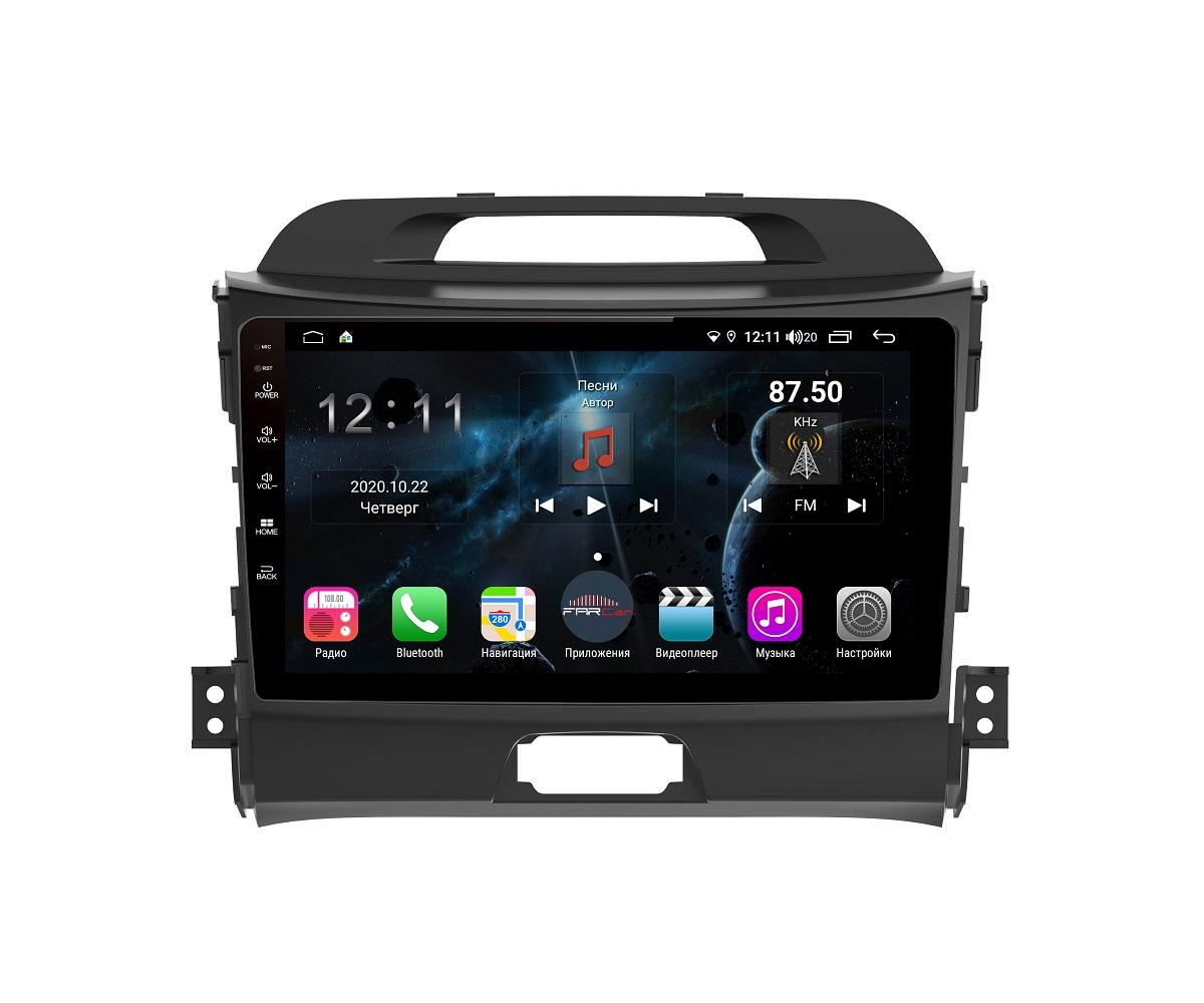 Штатная магнитола FarCar s400 для KIA Sportage на Android (H537R) (+ Камера заднего вида в подарок!)