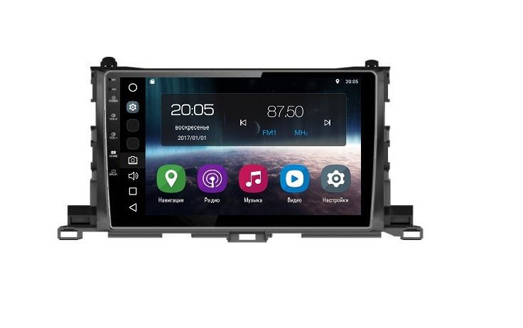 Штатная магнитола FarCar s200 для Toyota Highlander 2014+ на Android (V467R)