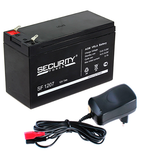 Комплект для эхолота (аккумулятор и з/у) аккумулятор для легкового автомобиля sonnenschein start line so 59050 90 ач об
