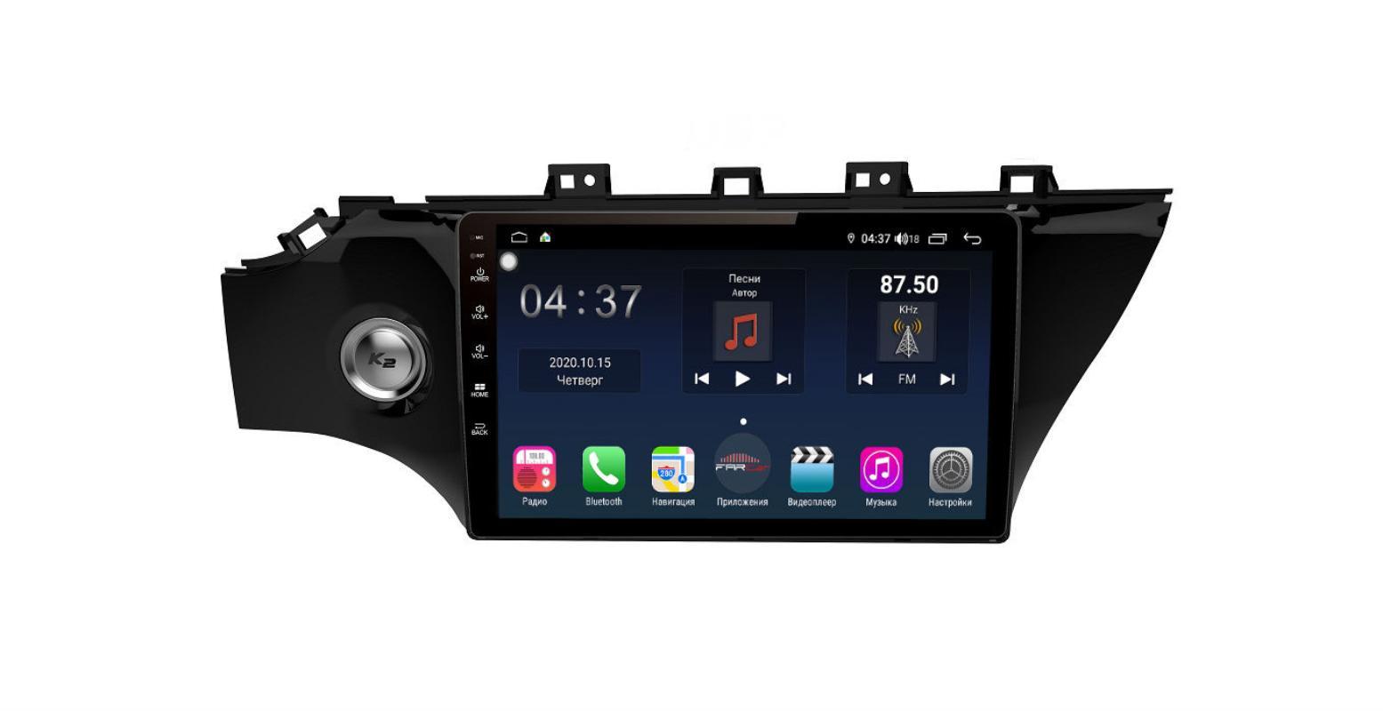 Штатная магнитола FarCar s400 для KIA Rio на Android (TG1105R) (+ Камера заднего вида в подарок!)