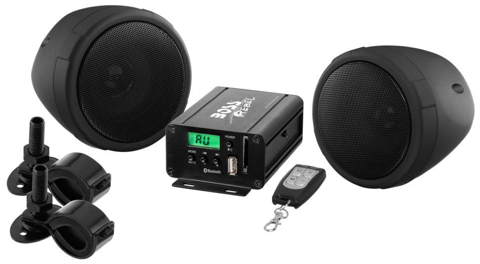 Аудиосистема BOSS Audio Marine MCBK520b (2 динамика 3, 600 Вт. USB/SD/FM, Bluetooth) boss orange толстовка