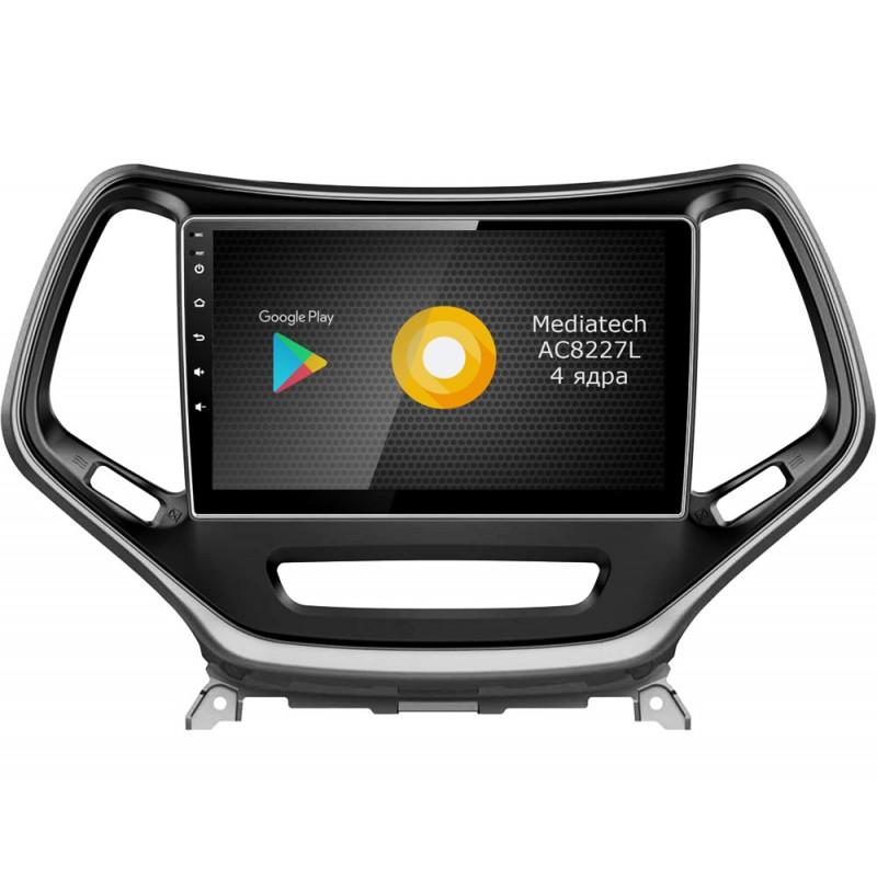 Штатная магнитола Roximo S10 RS-2202 для Jeep Cherokee (Android 9.0) (+ Камера заднего вида в подарок!)