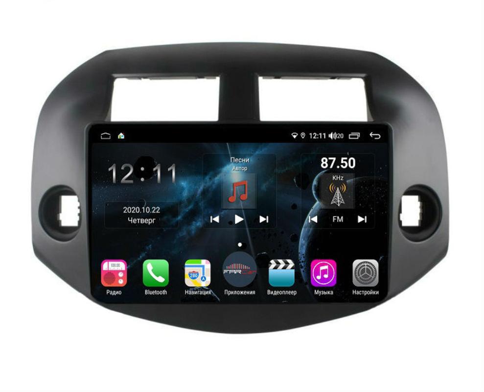 Штатная магнитола FarCar s400 для Toyota RAV-4 на Android (H018R) (+ Камера заднего вида в подарок!)