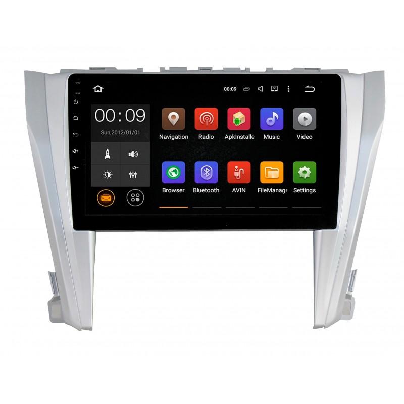 Штатная магнитола Roximo 4G RX-1117 для Toyota Camry v55 (Android 6.0)Roximo<br>Магнитола со встроенным модулем 4G и WiFi . Современный восьмиядерный процессор Octa Core,ARM A53,@1.5GHz и 2Гб оперативной памяти обеспечат надежную работу устройства и установленных приложений.  Дисплей по технологии IPS, FM-Тюнер с RDS, Bluetooth.