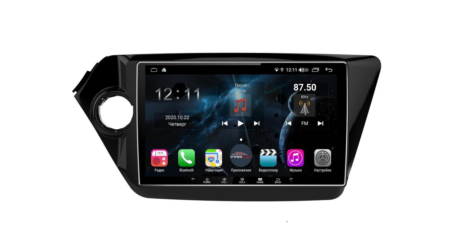 Штатная магнитола FarCar s400 для KIA Rio на Android (H106R) (+ Камера заднего вида в подарок!)